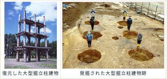 画像引用: 「三内丸山遺跡」